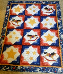 Texas Themed Baby Quilt