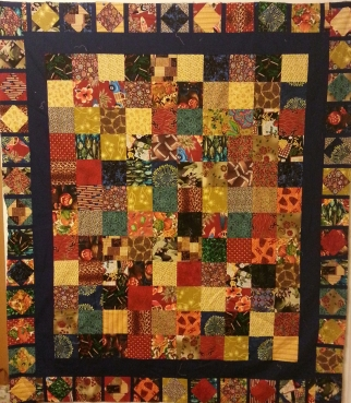 """Happy Wanderer"" Quilt by Cindy"