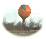 Gaffney's Peach Water Tower