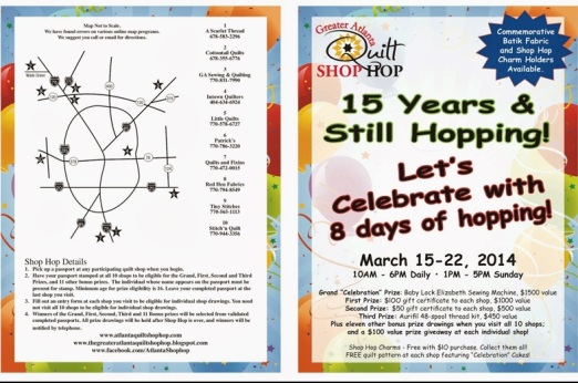 Shop Hop Flyer