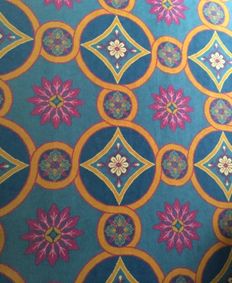 Close Up of Carpet in the Williamsburg Governor's Palace