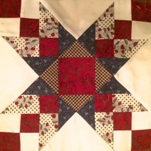 'Remembering Williamsburg' Quilt Block by Ginger