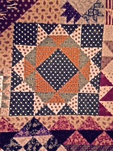 Civil War Quilt Detail