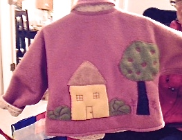 Applique Fleece Jacket