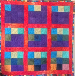 A 9 Patch Counting Quilt