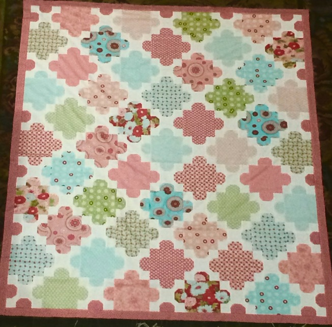 Started Last Year, This Beautiful Quilt Was Finished For The Stasher's Daughter