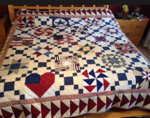 Americana Quilt by Colleen