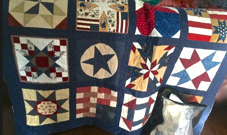 Stashing Sisters' Americana Quilt